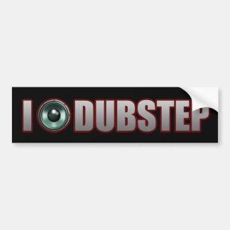 guys girls DUBSTEP Car Bumper Sticker