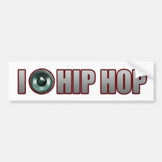 guys girls new old school HIP HOP HIPHOP RAP Bumper Sticker