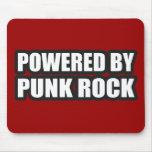 guys girls POWERED BY PUNK ROCK music Mousepads
