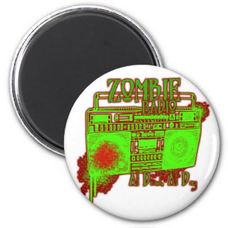 guys girls undead zombies funny zombie shirt fridge magnet