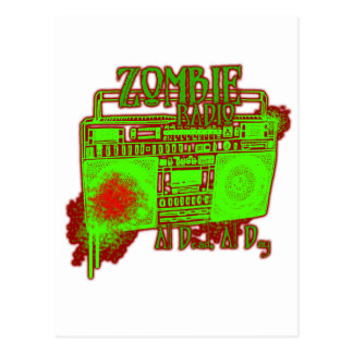 guys girls undead zombies funny zombie shirt postcard