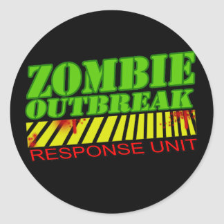 guys girls undead zombies funny zombie shirt sticker