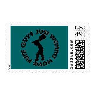 Guys Just Wanna Have Fun! Stamp