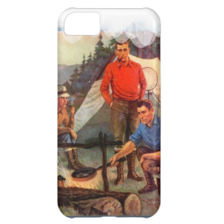 Guys only camping trip iPhone 5C case