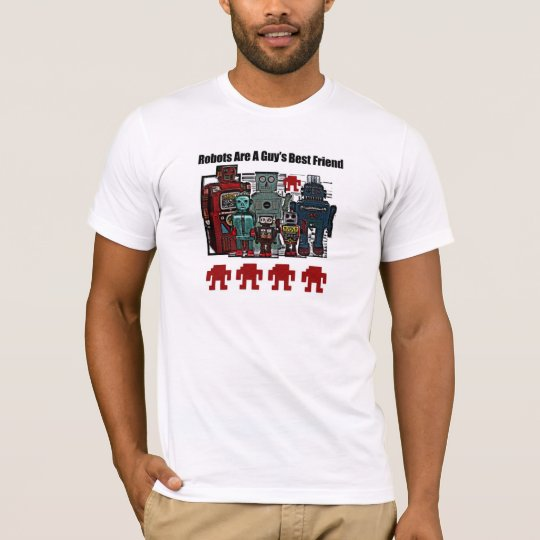 Guy's Vintage Japanese Toy Robot T Shirt