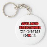 Guys With Vasectomies Make Great Lovers Keychain