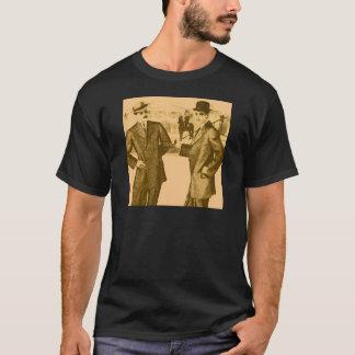 Guys Yellow vintage designs T-Shirt