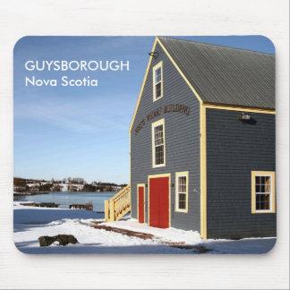 Guysborough, cojín de ratón de Nueva Escocia Tapetes De Ratones