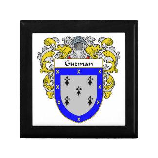 Guzman Coat of Arms/Family Crest Keepsake Box