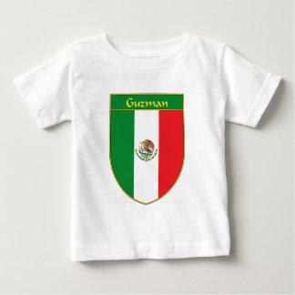 Guzman Mexico Flag Shield Baby T-Shirt