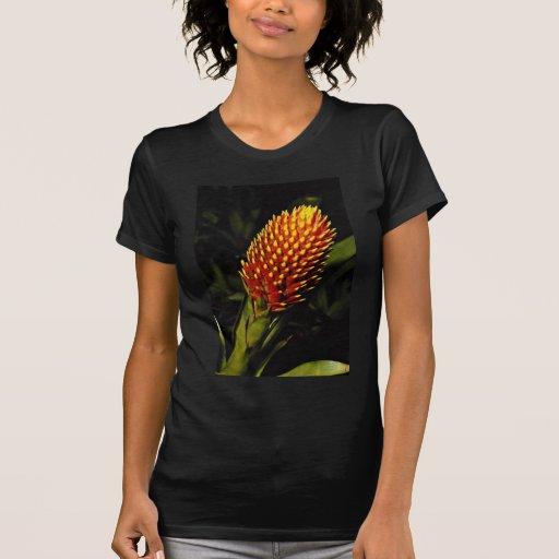 Guzmania conifera  flowers t-shirts