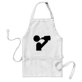 guzzler icon adult apron