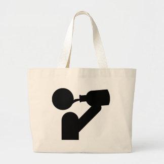guzzler icon canvas bags