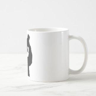 guzzler with crown icon coffee mug