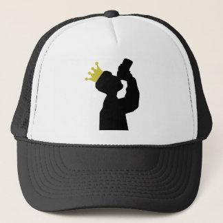 guzzler with crown icon trucker hat