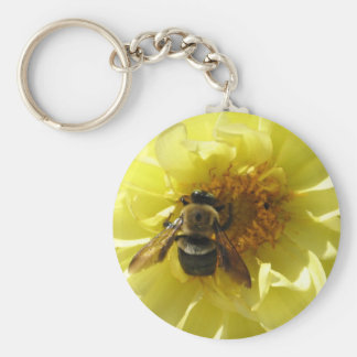 GV- abeja ocupada Llaveros Personalizados