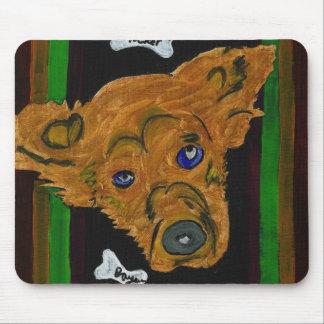 GVCS Dog Art Mouse Pad