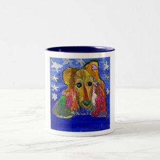 GVCS Dog Art Mug