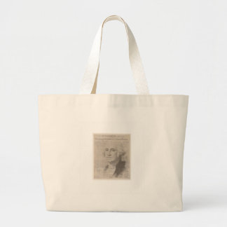 GW behind founding document Large Tote Bag
