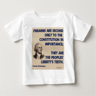 GW - Firearms Second only to the Constitution Baby T-Shirt