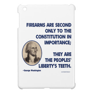 GW - Firearms Second only to the Constitution iPad Mini Cases