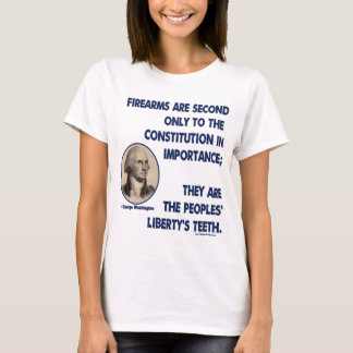 GW - Firearms Second only to the Constitution T-Shirt