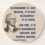 GW - Government Is Not Reason, Fearful Master Drink Coaster