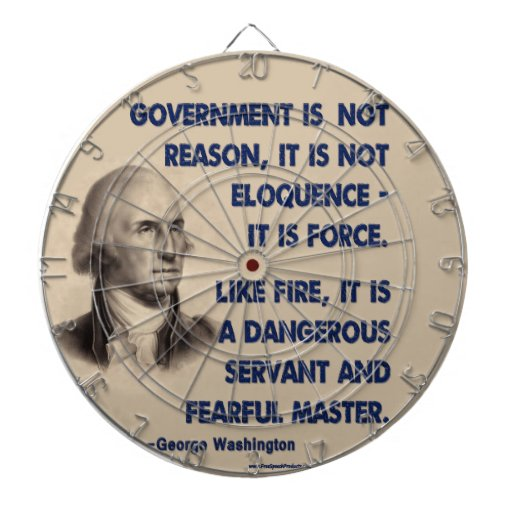 GW - Government Is Not Reason, Fearful Master Dart Board