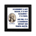 GW - Government Is Not Reason, Fearful Master Keepsake Boxes