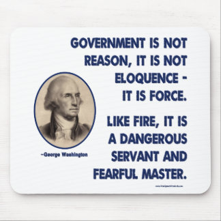 GW - Government Is Not Reason, Fearful Master Mousepad