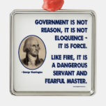 GW - Government Is Not Reason, Fearful Master Christmas Tree Ornaments