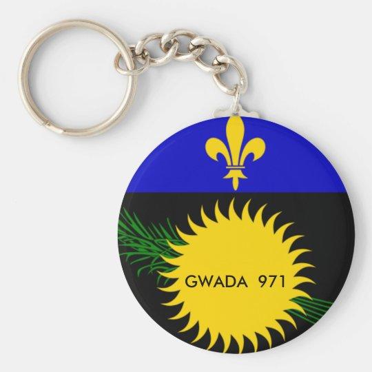 Gwada 971 Key Chain