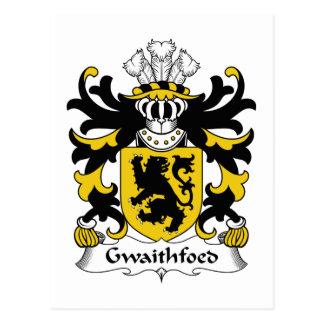 Gwaithfoed Family Crest Postcards
