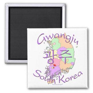 Gwangju South Korea Magnet