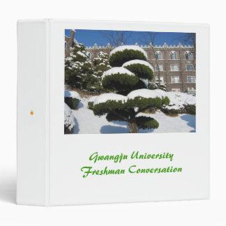 Gwangju University Freshman Conversation Binder