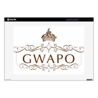 "GWAPO - FUNNY FILIPINO DESIGN 15"" LAPTOP DECAL"