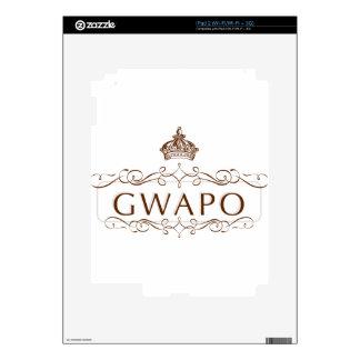 GWAPO - FUNNY FILIPINO DESIGN SKIN FOR iPad 2