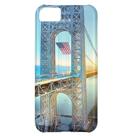 GWB connecting Fort Lee NJ and Manhattan NYPlus Case For iPhone 5C