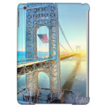 GWB connecting Fort Lee NJ and Manhattan NYPlus iPad Air Case