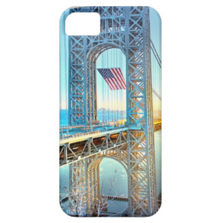 GWB connecting Fort Lee NJ and Manhattan NYPlus iPhone SE/5/5s Case
