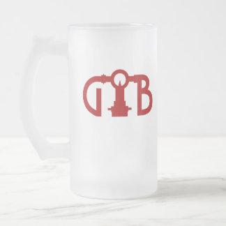 GWB Identity Logo Frosted Mug 16oz.