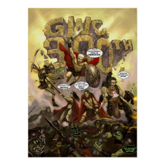 GWC 300th Artwork Posters