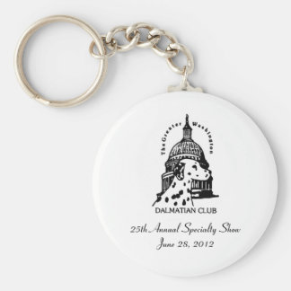 GWDC - 25th Specialty Show Keychain
