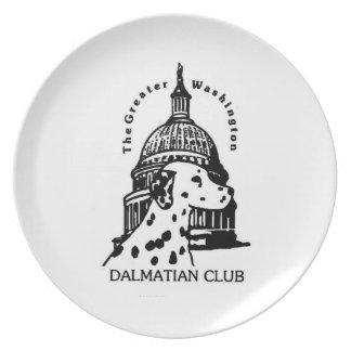GWDC Club Logo Plate