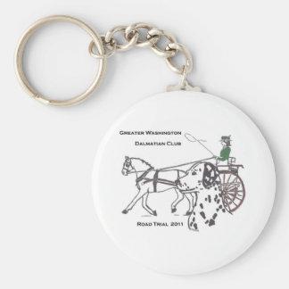 GWDC Road Trial 2011 Keychain