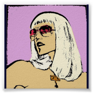 Gwen pop art poster