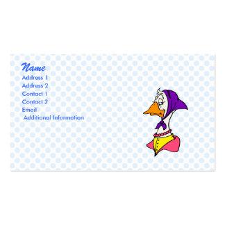 Gwenda Goose Business Card