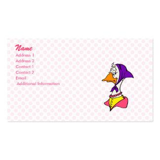 Gwenda Goose Business Cards