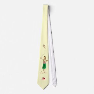 Gwenllian, Welsh Warrior Princess Tie