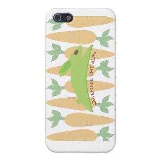 Gwennie The Bun: Gwennie In The Carrot Garden iPhone SE/5/5s Case